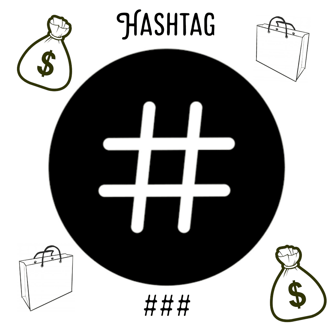 ใช้ Hashtag ขายของ